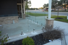 frameless railing