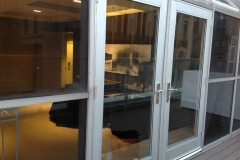 aluminum commercial door