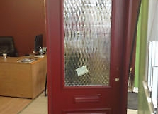 fiberglass entry door glass insert