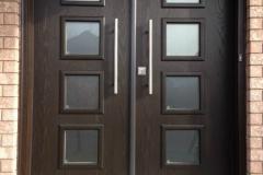 entry double door fiberglass