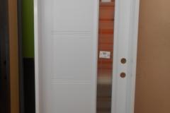 steel door glass modern lines