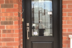 fiberglass entry door decorative glass