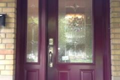 steel exterior door sidelite