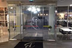 commercial vestibule
