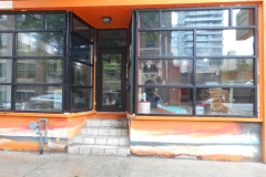 commercial aluminum storefront