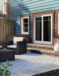 residential patio door